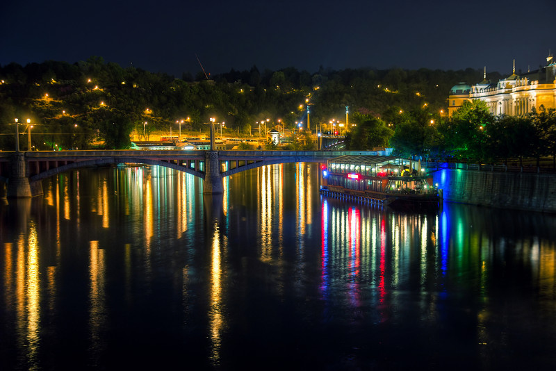 reflections at night #7
