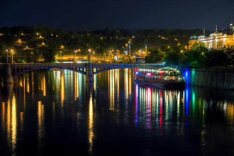 reflections at night #7